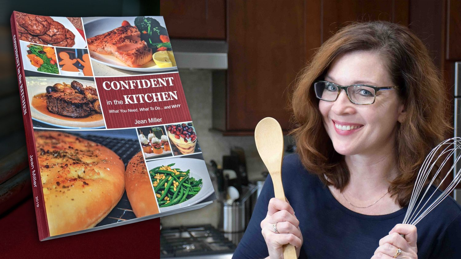 Confident in the Kitchen Cookbook-Jean Miller Recipes